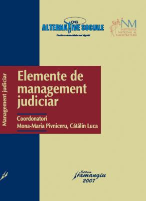 elemente de management judiciar