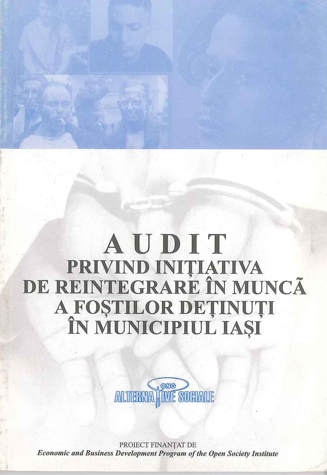 Audit privind integrarea detinutilor