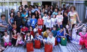 Support for 240 children affected by migration (in RO)