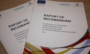 """Lansarea """"Raportului de recomandări pentru reducerea vulnerabilității resortisanților țărilor terțe la traficul de persoane în Europa"""""""