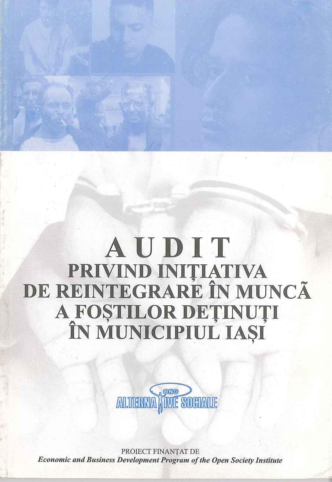 Audit privind integrarea detinutilor