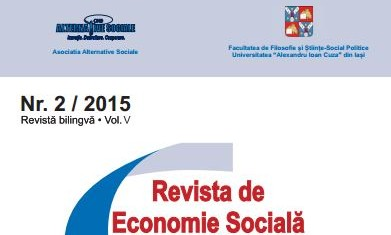 Issue no. 2/2015 of the Social Economy Journal Published (in RO)