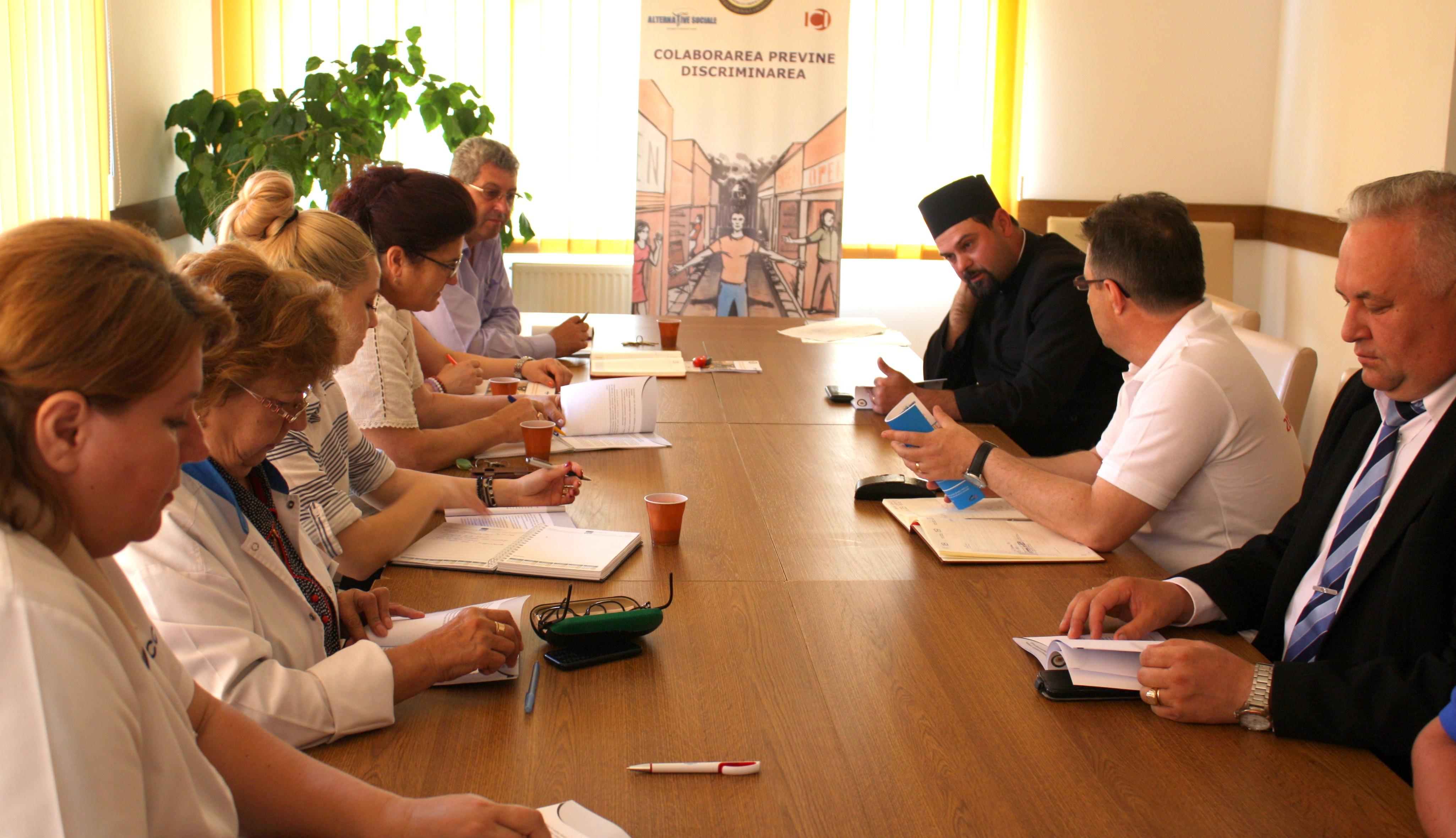 Reintegrarea în comunitate a foștilor deținuți: întâlnire de lucru în Bălțați